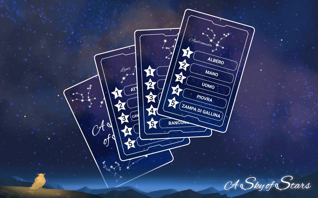 Componenti A Sky of Stars