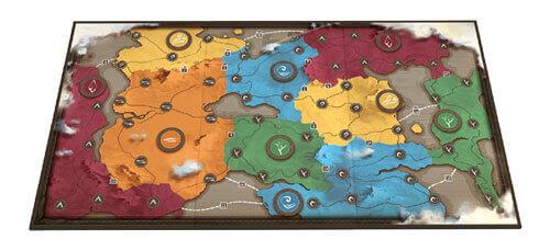 1 Plancia Mappa a doppia faccia
